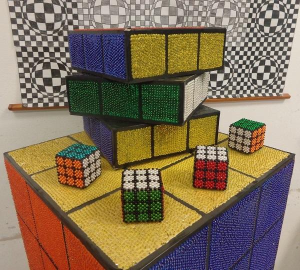 Rubik kockák Gyarmaton
