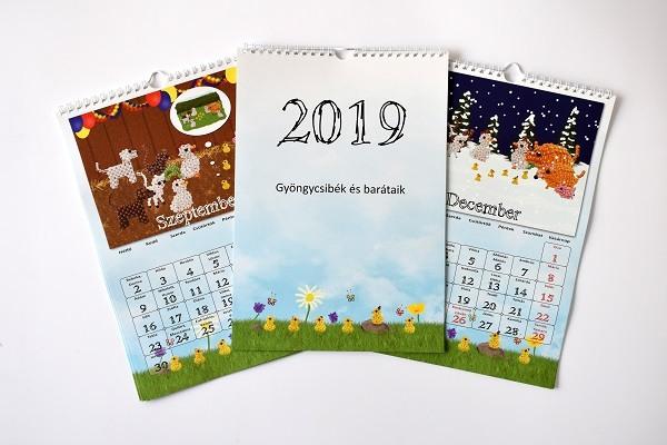 2019. eszes ede januar naptar