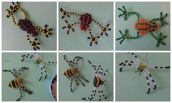 pók béka montázs