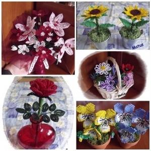 2. matus virág csokrok