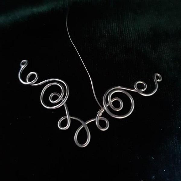 9. anita menyasszony drót rögzítés