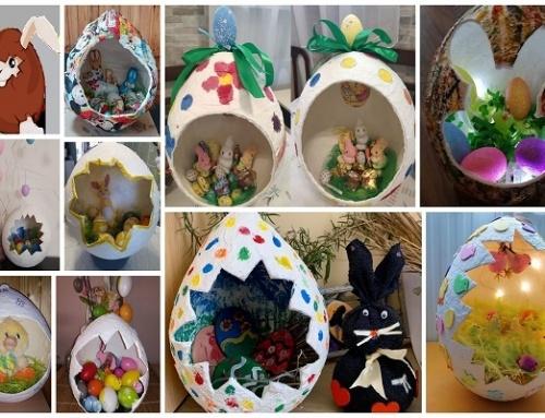 Ovis karanTanya húsvéti óriás tojásai