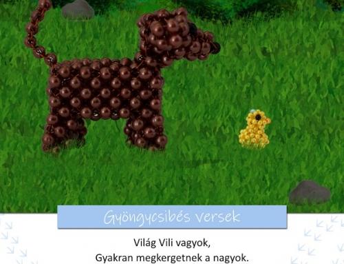 Gyöngycsibés játékos feladatok 3. rész – Világ Vili