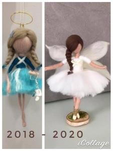 régi és új angyalka