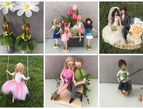 Annie's Home varázslatos nemezelt figurái