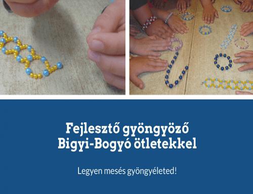 Fejlesztő gyöngyöző Bigyi-Bogyó ötletekkel