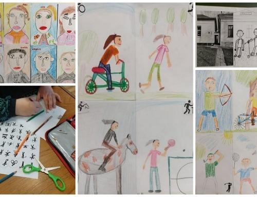 Összevont rajzórák Ordason Ica tanító nénivel