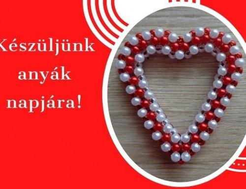 Dupla szívecske anyák napjára
