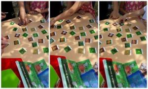 Gyöngycsibés memóriakártyák