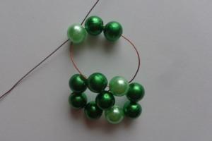 2. Zöld csíkos gömb