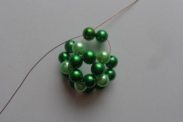 3. Zöld csíkos gömb