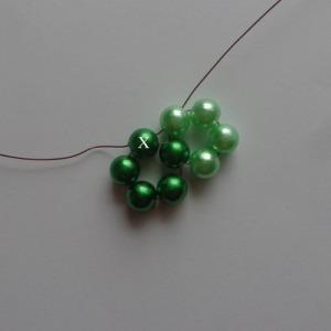 3. zöld gyöngygömb