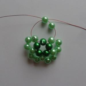 5. zöld gyöngygömb